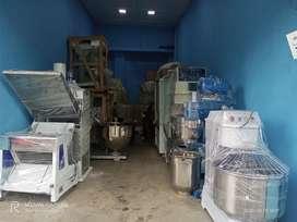 bakery machinery's (price varies from machine to machine & size)