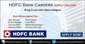Walking interview for fresher and  exprience