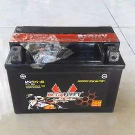 Megafleet YTX9-BS / MGFM9-4B MF / Aki Ninja 250 cc