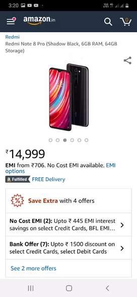 Redmi note 8 pro mobile