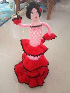 Boneka rajut handmade