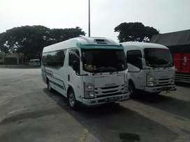 Elf kapasitas 19 orang Sewa mobil Haice seat 15 bus medium seat 31