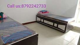 OM PG Rooms (single private furnished 1 room house flat 1bhk on rent)