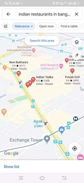 Restaurant for sale in Thailand which is running in profit