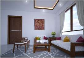 Gypsum board celling and partition works