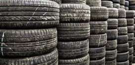 Minimum Used Tyres available, All car and all size tyres available