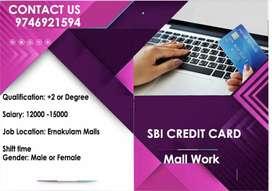 SBI CREDIT CARD - Mall Work
