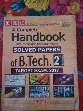 CBC handbook B.tech 2nd sem
