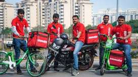 Fast food Delivery jobs full time or part time all over bangalore
