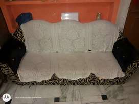 Three piece sofa set.