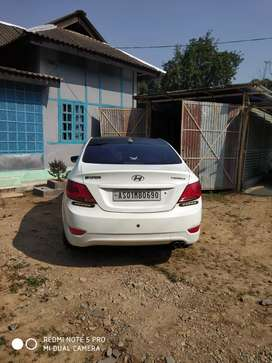 Hyundai Verna fluidic showroom condition