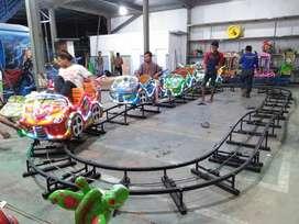 rel naik turun odong coaster asli pabrik wahana
