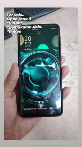 Jual cepat Handphone oppo reno 4