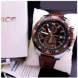 Elegant Edifice leather CASH ON DELIVERY watches price negotiable HRRY