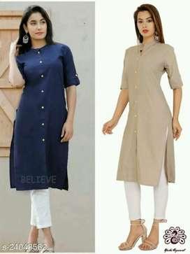 Abhisarika Pretty Kurtis Fabric: Cotton Sleeve Length