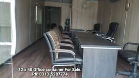 Office container 12x40 with kitchen porta cabin prefab home toilets