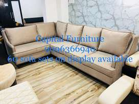 Brand New corner sofa set at very affordable price