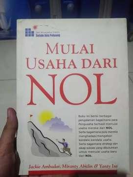 Buku mulai usaha dari NOL