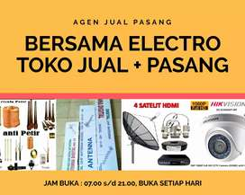 Teknisi Pemasangan Signal Antena TV Murah