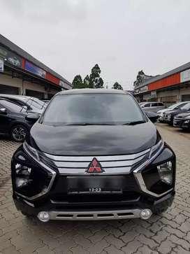 Mitsubishi Xpander SPORT A/T Thn 2018 Hitam Kilometer Low 7.000