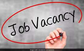 Male and Female staff requierd For HR Department