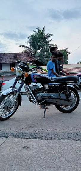 Yamaha rx 100 power increased to 135