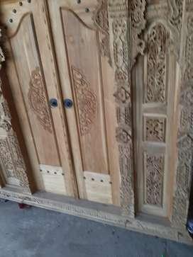 kevin cuci gudang pintu gebyok gapuro jendela rumah masjid musholla