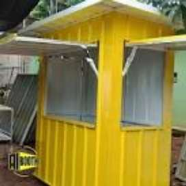 booth murah / booth container murah