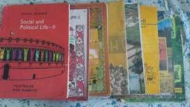 Class 6th, 7th, 8th, 10th class NCERT Social Science textbooks