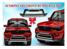 New Front & Rear bumper protector available for Mahindra scorpio.
