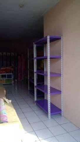 Menjual rak baru perlengkapan toko