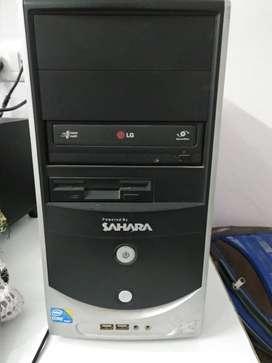 Desktop CPU -4GB Ram, Intel Core i3 -500GB , DOS/Linux.