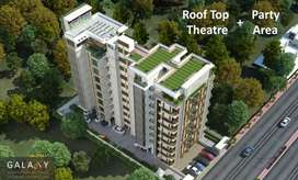 2BHK flat 753 square feet 24 hour security water power backup 24 hours