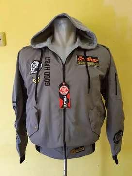 Jaket bomber hoodie