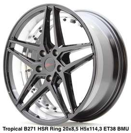 velg hsr wheel ring 20x8,5 tropical