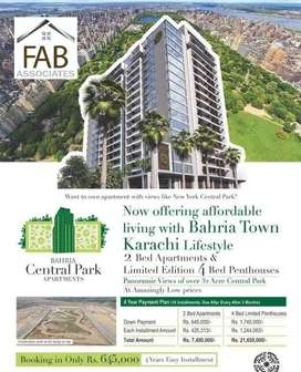 2nd Floor 2 Bed Apartment, Bahria Central Park Apartments