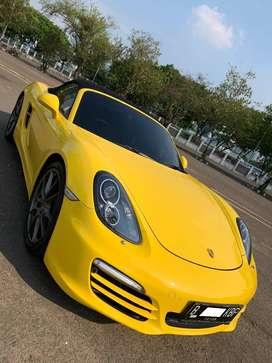 Porsche Boxter 2.7 PDK Yellow 2013 Mobil super duper Istimewa