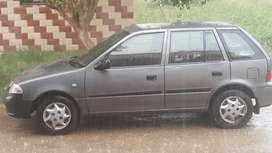 Cultus car on monthly rent