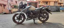 Rtr 160  sell with easy EMI facilities.