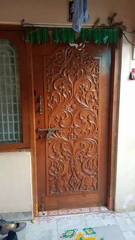 2 BHK 2nd floor house for lease near Agrahara circle