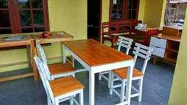 Set meja kursi cafe bigsale