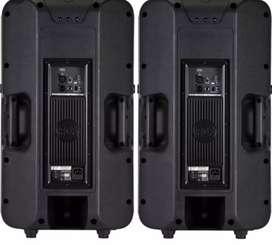 RCF powered speakers