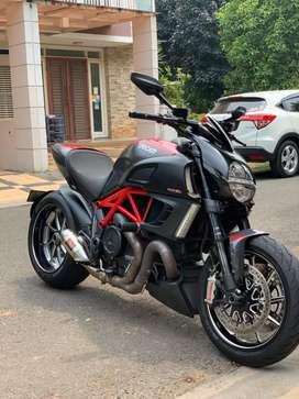 Ducati Diavel Red Carbon.2013/2012