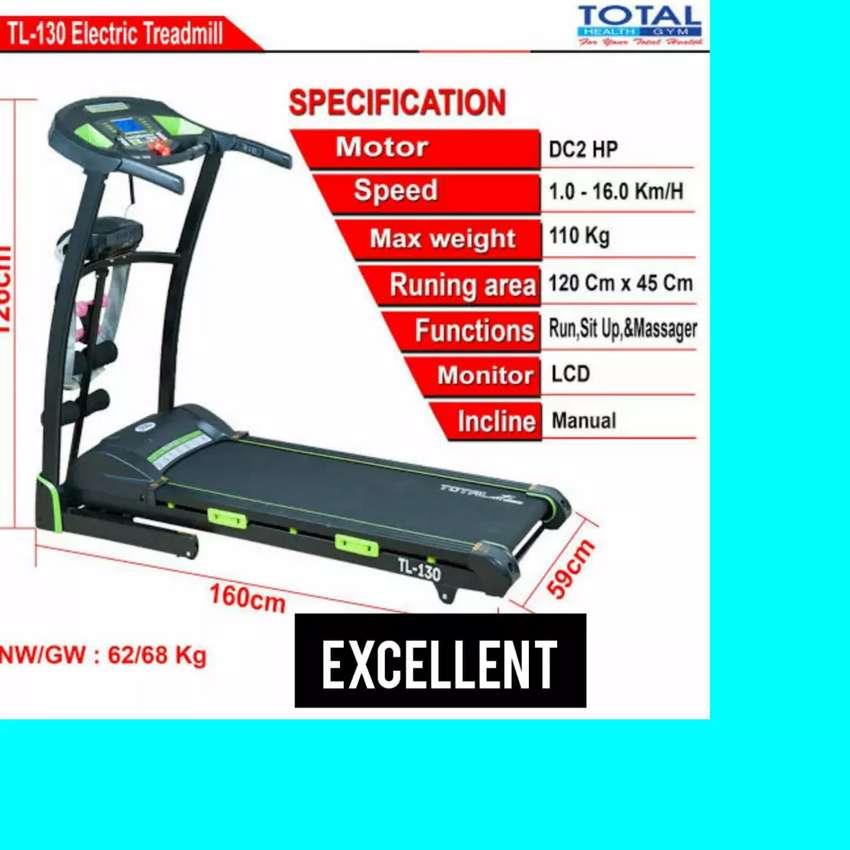 gratis ongkir treadmill treadmill elektrik incline TL-288 A-08