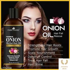 Park Daniel premium quality Onion oil and shampoo
