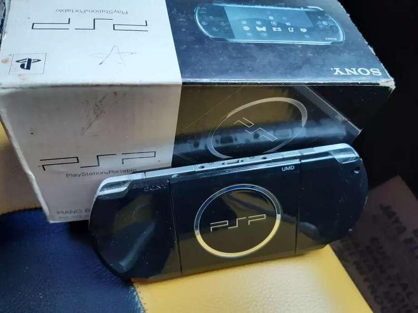 PSP 3001 Black fullset 8gb 0
