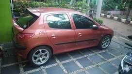 Dijual Peugeot 206 Orange MT - 2002 CBU