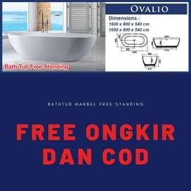 Bathtub Marbel Free Standing Free Ongkos Kirim DAN COD