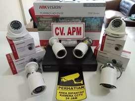 CCTV HIKVISION MURAH DVR 4CH,HD 500GB,LENSA 2MP DI JAKARTA SELATAN