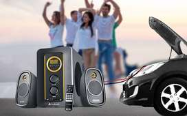 Brand new Brand warranty 1 year Audionic AD-3500 Speakers 2.1 Channel